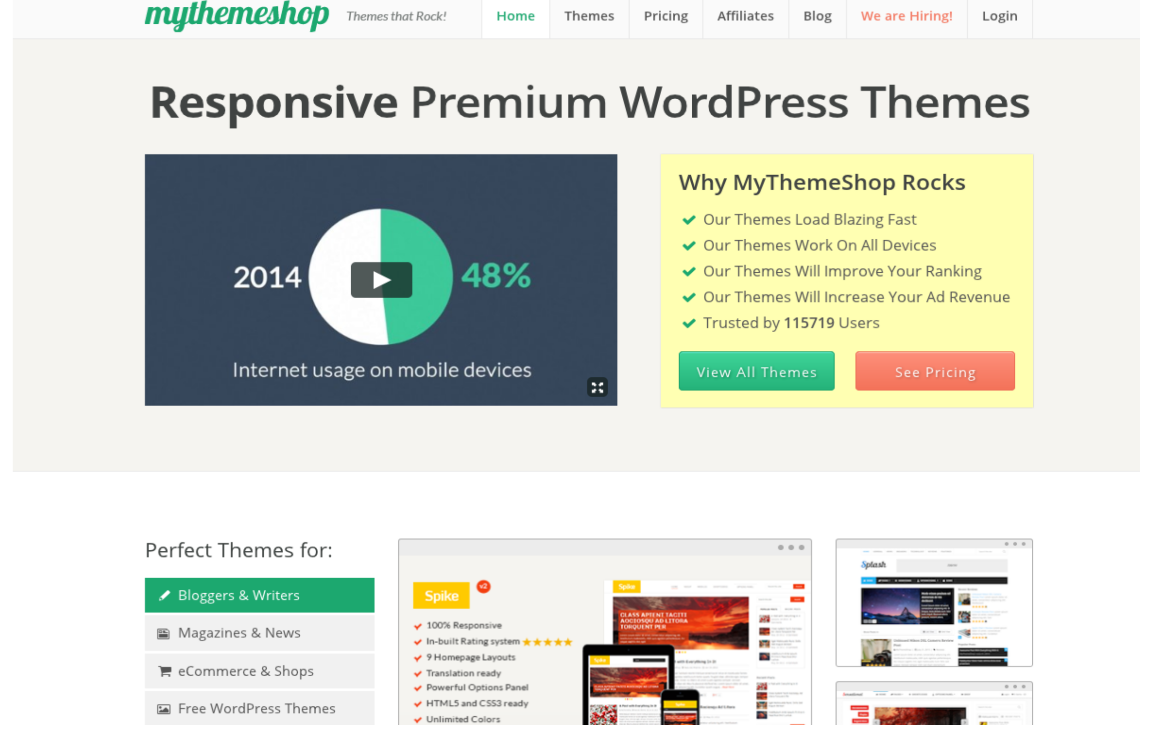 Mythemeshop WordPress Theme Club