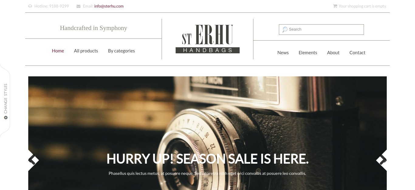 Erhu - Fashion Drupal Commerce Theme