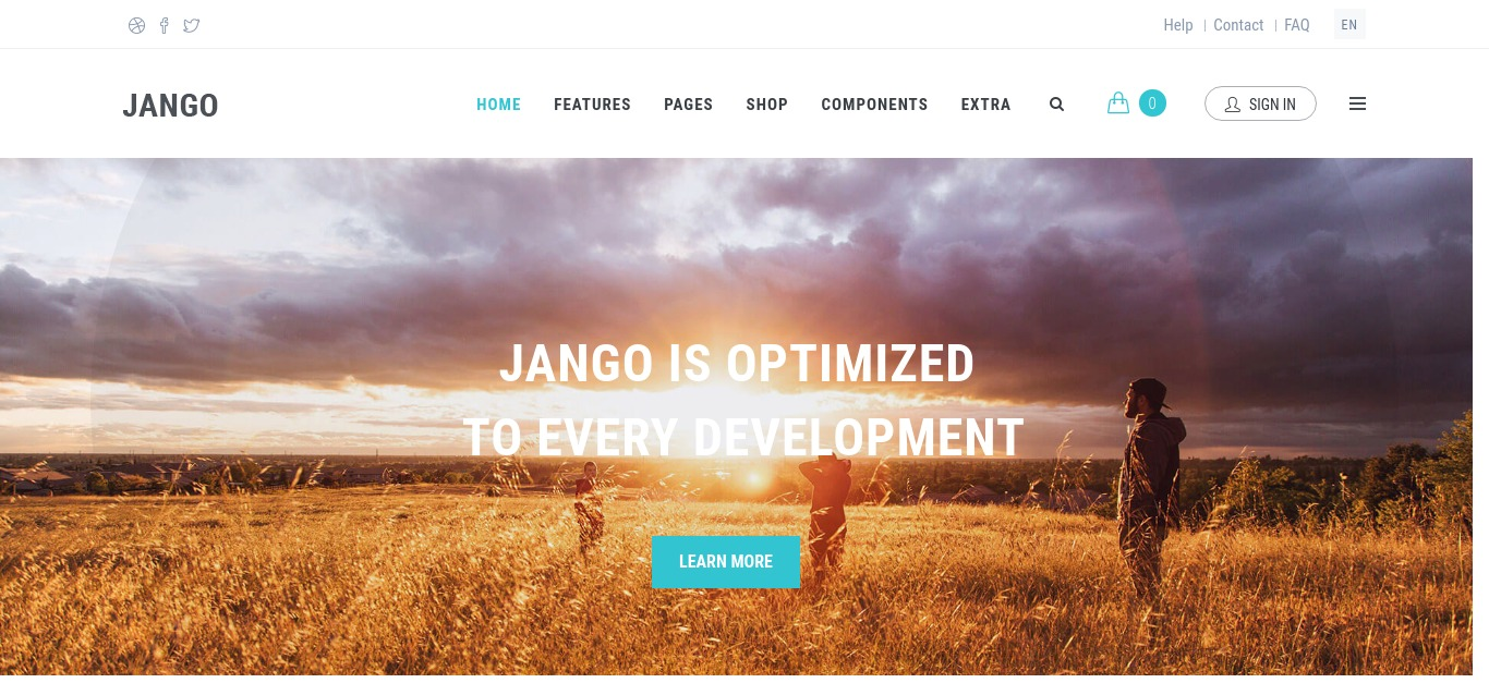 Jango - Multi-Purpose, Commerce Drupal Theme