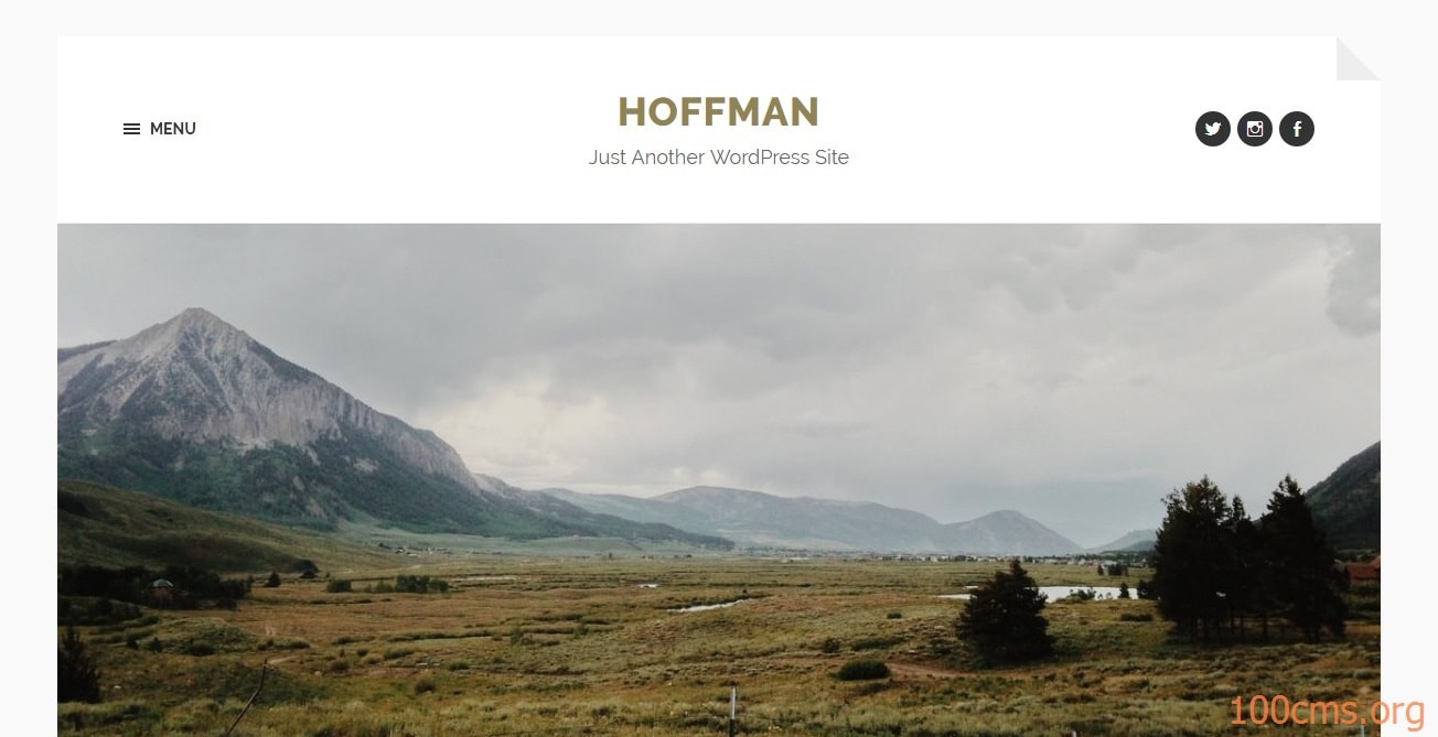 Hoffman - Wordpress Blog Template