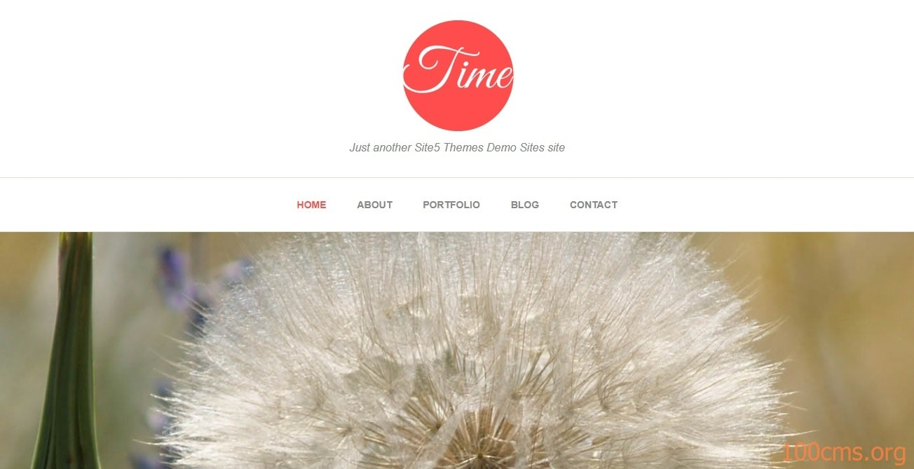Time - Wordpress Blog Template