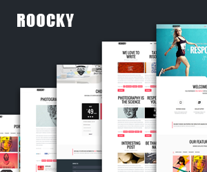 Roocky Joomla! Template.For you in every detail
