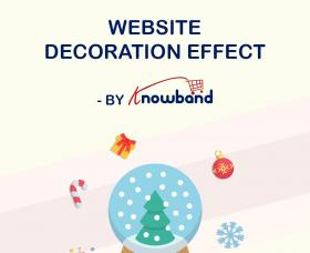 Modules PrestaShop: Prestashop Website Decoration Effect Module by Knowband