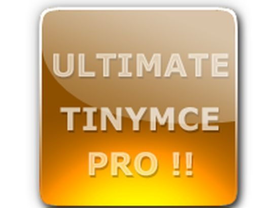 Wordpress Plugin: Ultimate Tinymce PRO