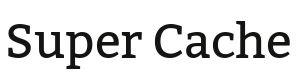 Wordpress Plugin: Super Cache