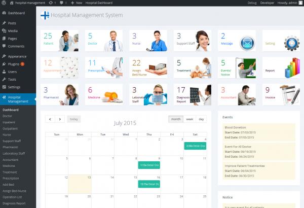 Bhavinpatel Wordpress Extension: Hospital Management System for Wordpress