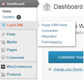 Bhavinpatel Wordpress Extension: Cart2CRM