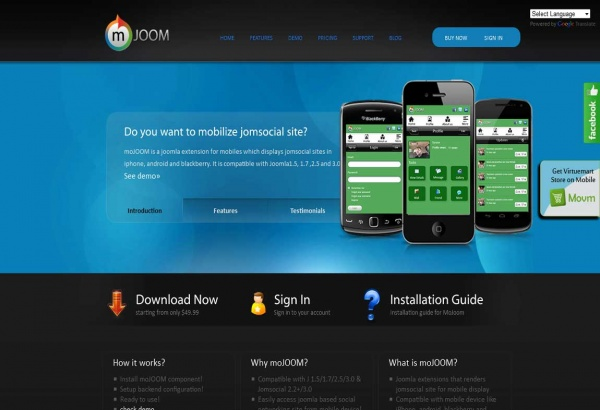 Bhavinpatel Joomla Extension: Mojoom - Mobile Jomsocial Extension