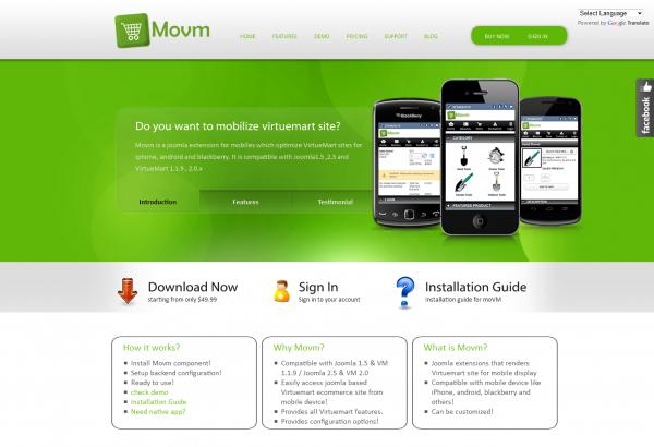 Bhavinpatel Joomla Extension: Movm - Mobile Virtuemart Extension