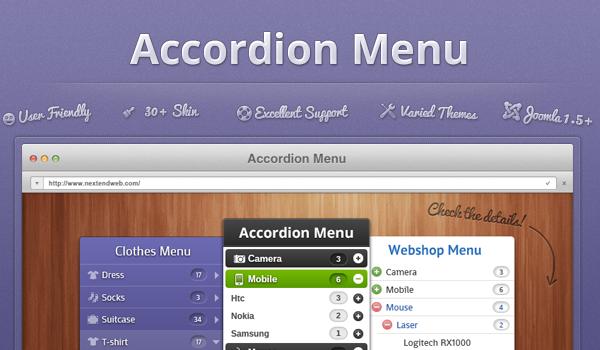 Wordpress Plugin: Accordion Menu for WordPress