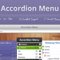 Joomla Free extension - Accordion Menu for Joomla