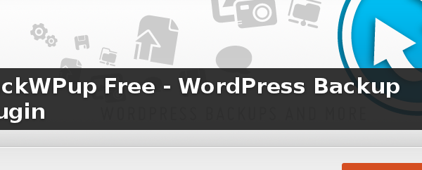 Wordpress Plugin: BackWPup Free
