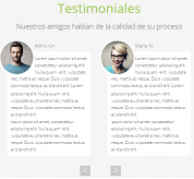 Joomla extension testimoniales list new
