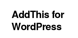 Wordpress Plugin: Share Buttons by AddThis
