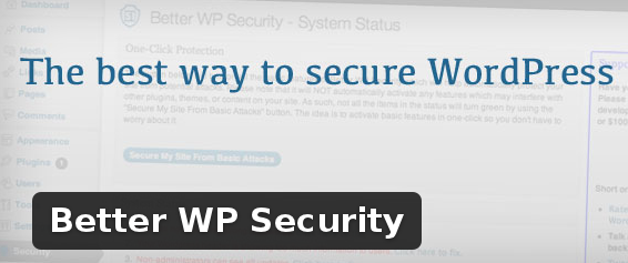 Wordpress Plugin: Better WP Security