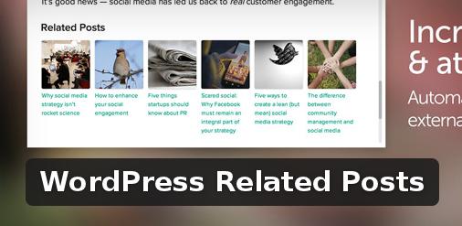 Wordpress Plugin: WordPress Related Posts