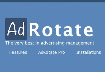 Wordpress Plugin: AdRotate