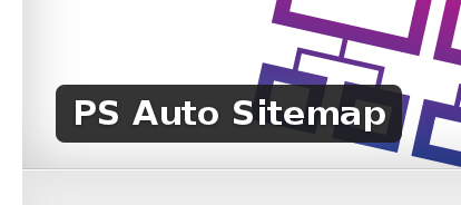 Wordpress Plugin: PS Auto Sitemap