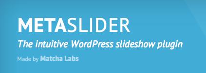 Wordpress Plugin: Meta Slider