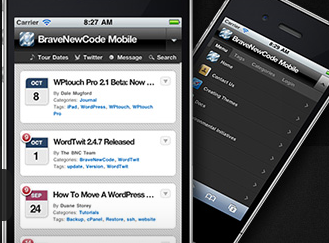 Wordpress Plugin: WPtouch Mobile Plugin