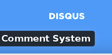 Wordpress Plugin: Disqus Comment System