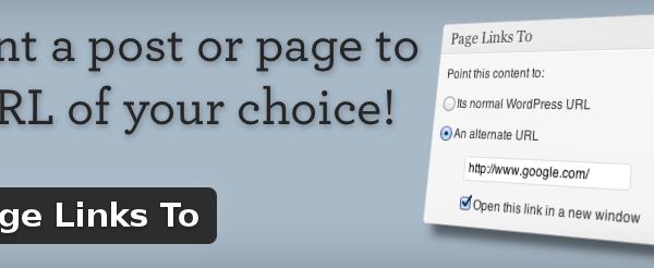 Wordpress Plugin: Page Links To