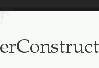 Wordpress extension underConstruction