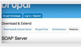 Drupal Module: SOAP Server