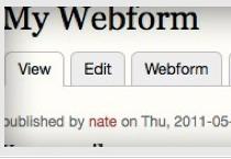 Drupal Module: Webform