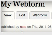 quicksketch Drupal Extension: Webform