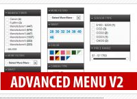Opencart Free extension - Advanced Menu Layered Category