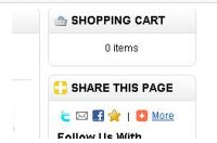 Extensions OpenCart: Follow On Twitter
