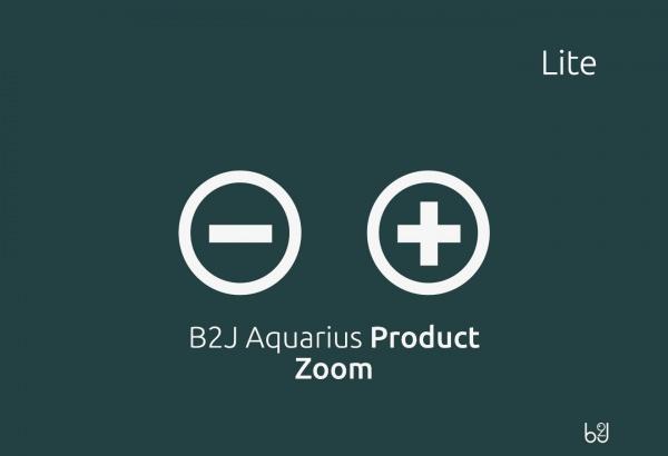 Ashot Joomla Extension: B2J Aquarius Product Zoom LITE
