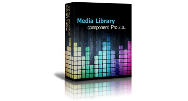 OrdaSoft Joomla Extension: Media Library Software