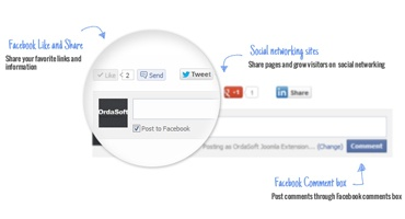 OrdaSoft Joomla Extension: Joomla Social Comments and Sharing