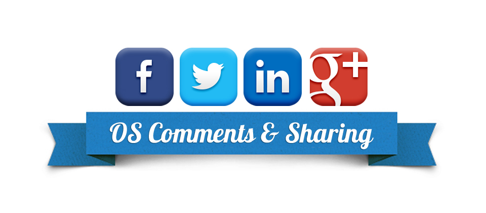 Joomla Extension: OS Social Comments and Sharing