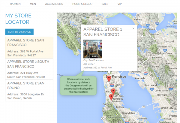 Amasty Magento Extension: Magento Store Locator by Amasty