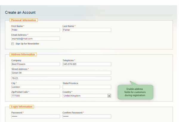 Amasty Magento Extension: Magento Customer Attributes