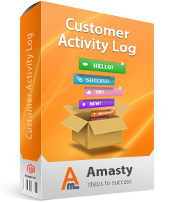 Amasty Magento Extension: Magento Customer Activity Log