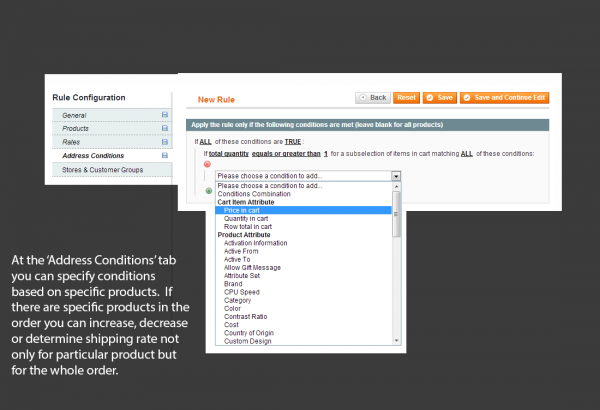 Amasty Magento Extension: Magento Shipping Rules