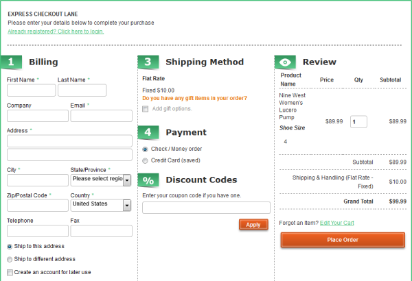 Amasty Magento Extension: Magento One Page Checkout