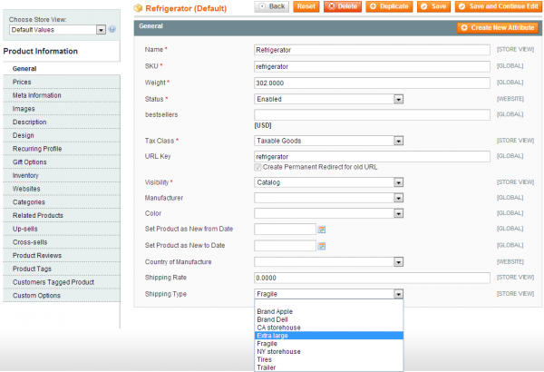 Amasty Magento Extension: Magento Shipping Table Rates