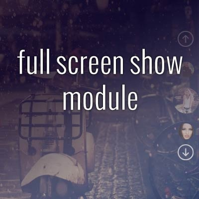 Joomla Extension: Fullscreenshow Module
