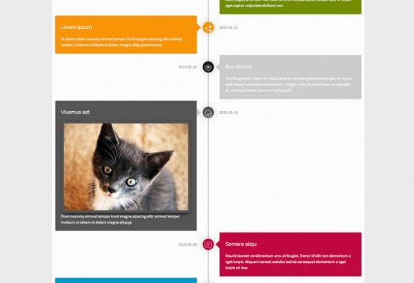 Joomla Extension: Timeline Module
