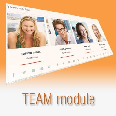 Joomla Extension: Team Module