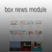 Joomla extension BoxNews module