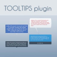 Joomla Free extension - Tootip plugin