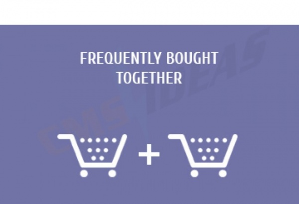 cmsideas Magento Extension: Magento frequently bought together