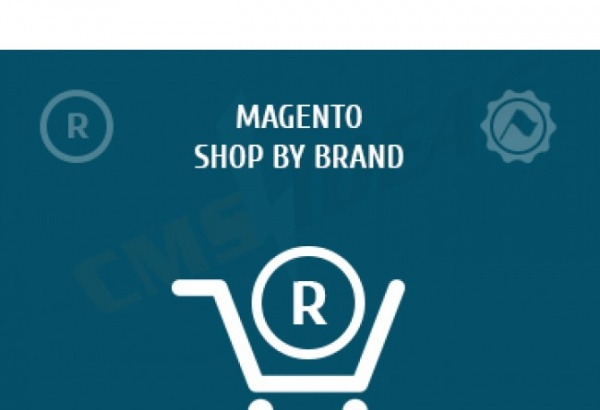 cmsideas Magento Extension: Magento shop by brand extension