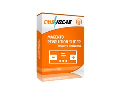 cmsideas Magento Extension: Magento Revolution Slider Extension
